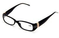 Women's Reading Glasses Black Frame Design Cute Readers Trendy Specs 1.0 ~ 4.0