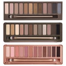 3pcs/lot Wholesale 2014 new NAKE 3 Makeup set 12 Colors palette NK1 2 3 eyeshadow palettes make up with brush, free shipping(China (Mainland))