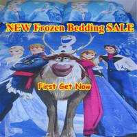 NEW!!! Frozen Bedding Single/Double TWIN Full Quilt/Doona Cover Set  Frozen Bedding Set 100% Cotton Elsa Anna Olaf Bedding SALE!