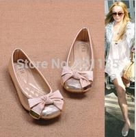 New Arrival 2014 Spring Flats for Women Sweet Flat Heel Fashion Women's Flats 2014 Plus Size Shoes 35-40 Euro Free Shipping