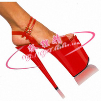 Rome sexy sandals 20 cm fine with waterproof ultra high heels wedding bridal shoes sexy shoes