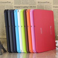 For Samsung Galaxy Tab 2 10.1 inch P5100 Tablet PU Leather Case Cover P5110 Original business smart covers free shipping