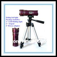 2014 seconds kill promotion wholesale - linternas led flashlight torch, boating camping fishing light flash lamp, white & blue
