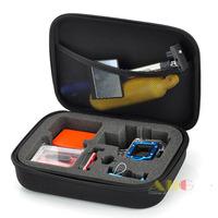 (Size M: 215 x 165 x 65mm) GoPro Accessories Gopro Storage Bag Case EVA Camera Video Bag for Gopro HD Hero 3+ 3 2 1