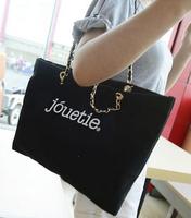 2014 korean letter women fashion handbag!womens brand hippie autumn big tote shoulder bags shopping bag!college girl canvas bag