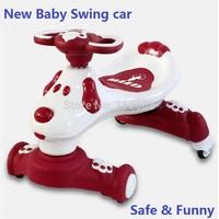 Free shipping New shilly shilly car swing car children swing car four wheels shilly car
