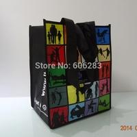 custom 100G PP non woven lamination bag size 30*40*18 CM
