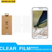 2014 new BASEUS brand HD mobile protective film forSAMSUNG  galaxy s5 film  hd membrane  screen film i9600 mobile phone film