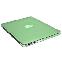 """GREEN Rubberized Matte Hard Case Cover For NEW Macbook Pro 13"""" A1425 with Retina display FREE SHIPPING"""