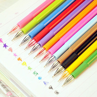stationery candy colored crystal pen 0.5mm Gel Ink pen wholesale