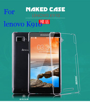 2014 Sale Real 2pcs Original Bepak Brand Naked Back Cover lenovo K910 vibe z case Transparent Phone with free Screen Protector