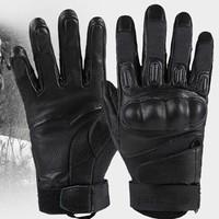 Free soldier sheepskin armor Combat gloves SOLAG scratch-resistant Flame retardant Training gloves