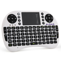 English or Russian, Mini Wireless keyboard &Touchpad 2.4G Multi-Media Remote Control For PC/Andriod TV Box/ better than Rii i8