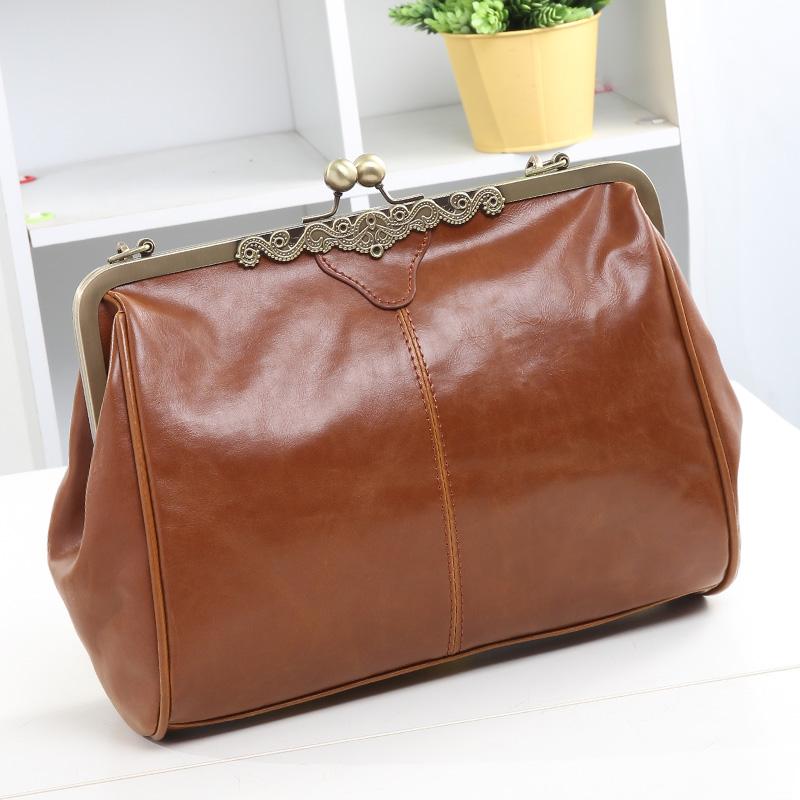 nuovo stile 2014 caldo di vendita antico moda vintage marrone piccolo messaggero spalla casual donna di alta qualità delle donne borsa borse