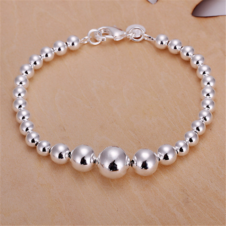product Bracelets Bangles Sterling Silver Bracelets Creative Hand Catenary Style Restoring Ancient Ways DIY Beads Bracelet Adorn Article