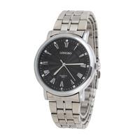 Hot Market Wholesale New Top Luxury Jewelry Brand Promotion Fashion Waterproof Sport Casual Man Steel Quartz Watch LONGBO-8824