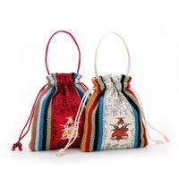 Traditional Chinese Ethnic Ancient Canvas Wind Restoring Ancient Cluctch Woman Handbag Bolsas Femininas 2014