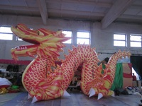 2014 TOP quantity  chinese dargon / inflatable dinasour