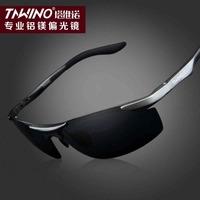 The new aluminum-magnesium polarized sunglasses male driver driving driving sunglasses sports sunglasses Genuine