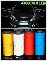 NEW 4700CM*1CM Super reflective strip car be light garland luminous stickers body decoration full reflectors vw becomes
