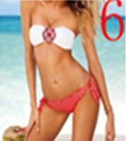 Pink Crystal Rhinestone Bra With no steel prop sexy bikini