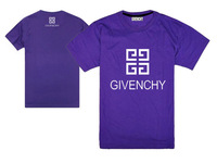 2014 New Design Tops & Tees Brand Logo Givency Men T-shirts 100% Cotton Pop Man Casual Tees
