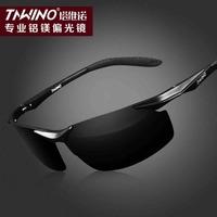 2014 new wave of people polarizer sunglasses male driver of aluminum magnesium Men's super-clean driving glasses sunglasses