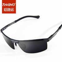 Lightweight aluminum-magnesium polarized sunglasses men polarizer New car driving glasses polarized sunglasses