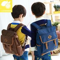 Waterproof fabric PU leather robot backpack school bags for boys backpacks children 2014 new Lemonkid brand E724312