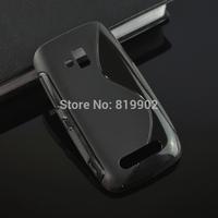 hot selling soft case S Line Wave Gel Soft Back Case Skin Cover For nokia Lumia 610 N610 phone bag case