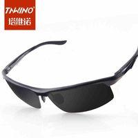 2014 new sunglasses men sunglasses polarizer the driver of aluminum magnesium influx of cool sunglasses mirror