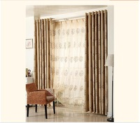 [Goddess] custom jacquard textile fabric living room blackout curtains finished upscale bedroom gauze curtains Yushulinfeng