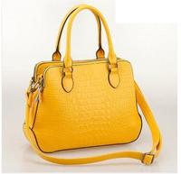 2014 Hot New Women Leather Handbag Genuine Leather Shoulder Bag Famous Brand Cowhide Messenger Bags Tote 7 colors H0608