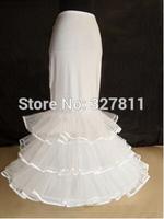 Quality bride wedding dress fish tail tiebelt panniers ring yarn skirt cq233