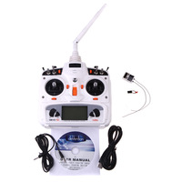 Walkera DEVO 10 10CH 2.4Ghz RC Transmitter RX1002 Receiver Model 2 for RC Helicopter and Airplane