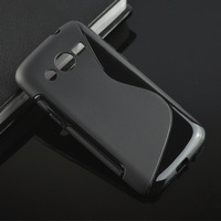 S-line Soft Gel Tpu Wave Case Back Cover Skin for Samsung Galaxy Core LTE 4G SM-G386F G386F