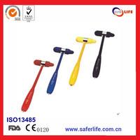 10 pieces/lot 2014 hot sales diagnostic reflex hammer medical hammer  neurology