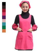 1pcs Hot Sale Women  Fashionable Spun Poly Adjustable Bar Waiter Craft / Commercial Restaurant  KITCHEN APRON #008