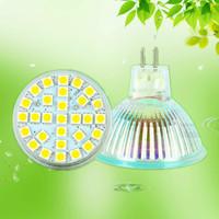 Free shipping 6W 29leds SMD GU10/ MR16 /E27 220V white/ warm white LED spot lights high brightness 120 degrees factory price