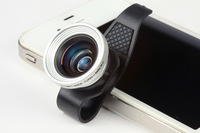 F8001 model Clip Wide Angle + Macro Mobile phone Camera Lens for iPhone 4/4s /ipad 2