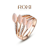 2014 Rings For Smart Ring Rose-golden Plated Rings With Opals,fashion Jewelrys,factory Price,best Chirstmas Gifts,high Quality