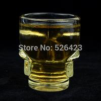 Doomed Shot Glass Crystal Skull Head Cup For Brandy Whisky Rum Vodka Tequila