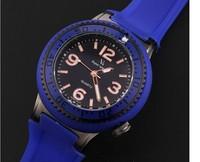 Brand KingSky Eco-friendly Rubber Sports Watches Quartz Fashion Guys Casual Water Resistant Wristwatch Analog Clock Reloj NW268