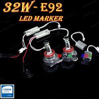 Cree LED 32W 64W Angel Eyes LED Lights Ring Marker Xenon HID White for E87 E82 E90 E92 M3 E93 E70 E71 E89 X5 X6 Z4