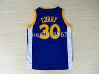 Golden State #30 Stephen Curry Brand New Jerseys Blue Basketball Jersey