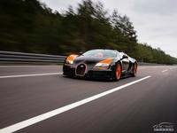 : 18 Bugatti Veyron supercar static alloy car models