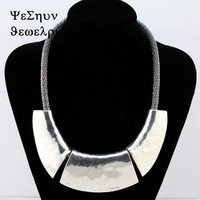 Europe and the United States to Restore Ancient Ways Metal Fashion Short Necklace Women's Necklace-XLBH265