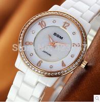Women Watches Relogios Femininos Top Brand Women Ceramic Watch Quartz Waterproof 200m Back Light Lady Casual Dial Fashion New