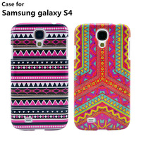 Wholesale New Fashion case for Samsung cell mobile Phone cases stripe pattern PC hard cover case for galaxy S4 Free shipping