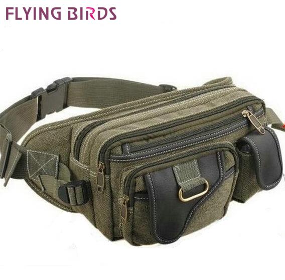 Flying birds! 2014 new arrive canvas Waist Bag men messenger bags Outdoor sport men bag Chest pack LM0045(China (Mainland))